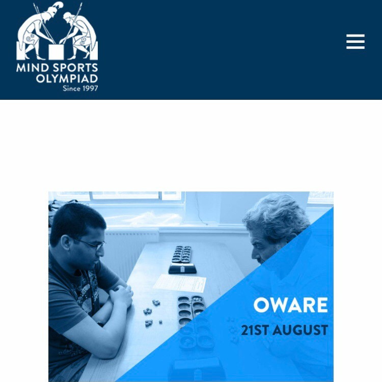 Mind Sports Olympiad Oware Tournament