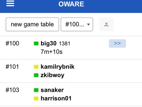 Chronicles of players on the playok platform for the week beginning 23rd November 2020 11th edition