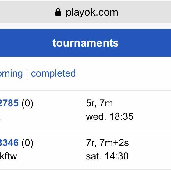 1st Online Practice Oware Tournament (Beginners)