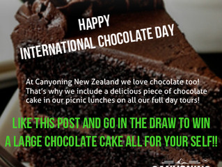 Win some yummy chocolate cake!