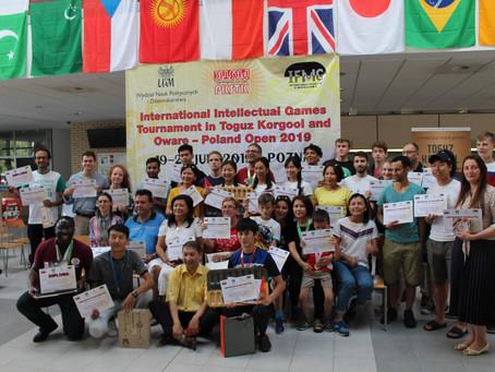 International Intellectual Games Oware Championship 2019