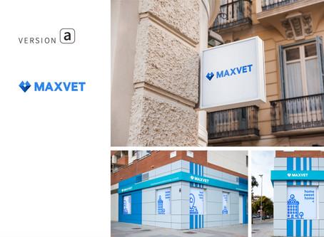 MAXVET寵物醫療品牌 | Logo設計 | 品牌商業設計 | 品牌設計 |