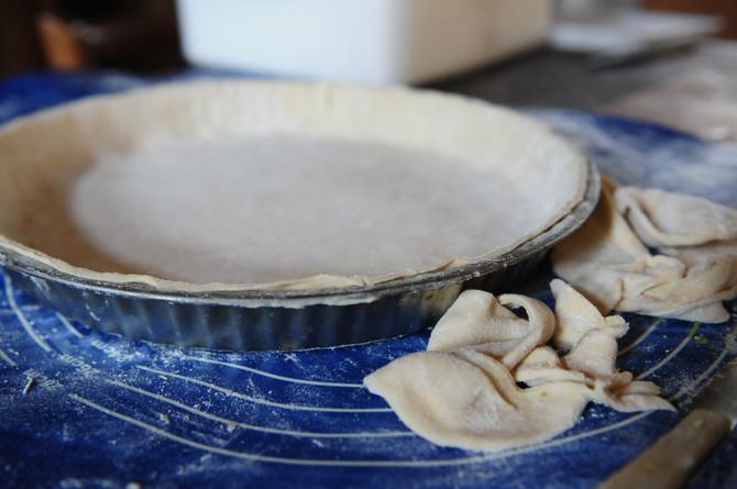 Pâte à tarte salée des biquettes