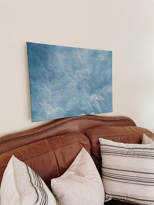 Abstract Cyanotype