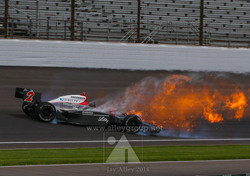 Photo by Jay Alley Foyt Indy 08 Bump Day