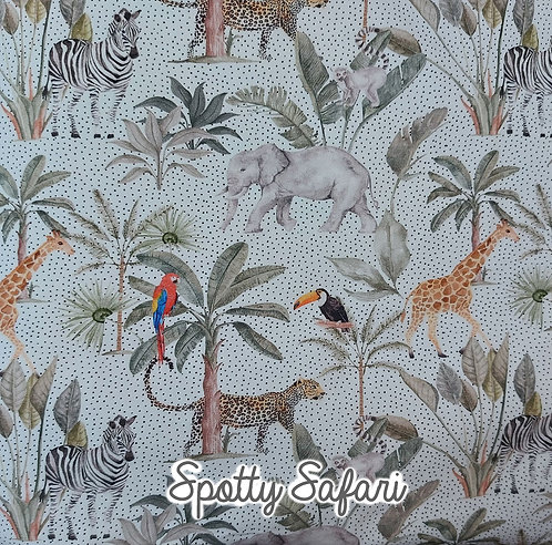 Spotty Safari - Harem Shorts