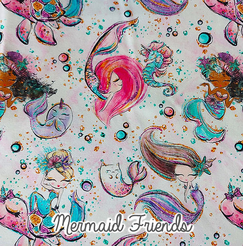 Mermaid Friends - Unicorn Or Dinosaur Dress
