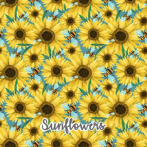 Sunflowers - Short Sleeved T-Shirt