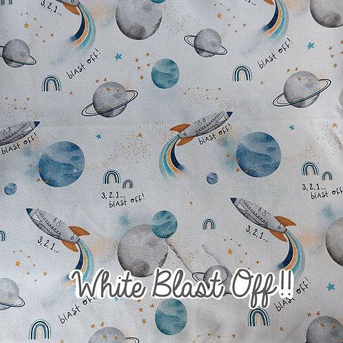 White Blast Off!! - Adult Skirt