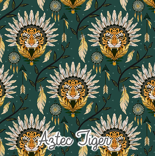 Aztec Tiger - Loungewear