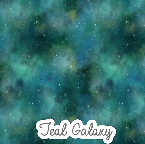 Teal Galaxy - Harem Shorts
