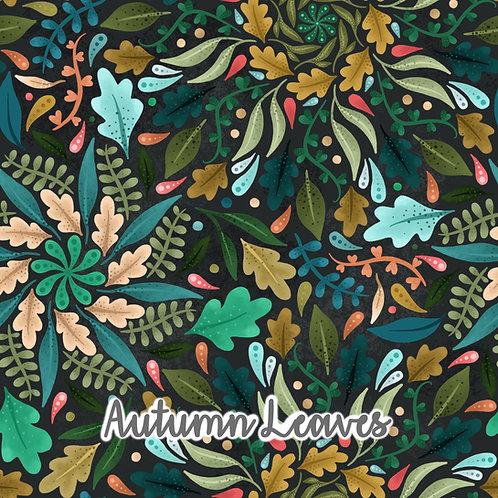 Autumn Leaves - Twirly Dress