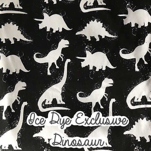 Ice Dye Dinosaurs Spring/Summer Rompers