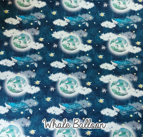 Whale Balloon - Baby Bundle - Romper And Hat