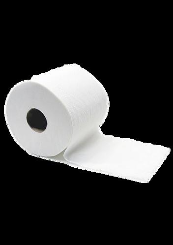 WC-Papier 3 lg Tissue Zellstoff weiß, 72 Rollen pro Pkg !