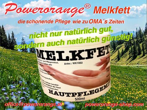 Melkfett  die schonende Pflege!  500ml