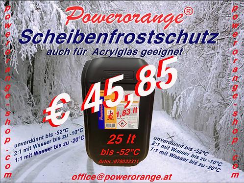 25lt Scheibenfrostschutz  bis  -52°C