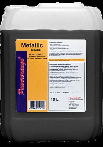 Metallic Polymerbeschichtung schwarz 10lt.