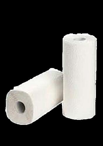 Küchenrollen 3 lg Zellstoff weiß,48 Rollen pro Pkg