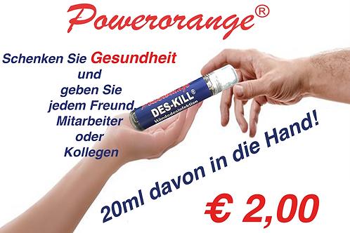 DES-KILL Handdesinfektions-Spräys 20ml       4 Stück
