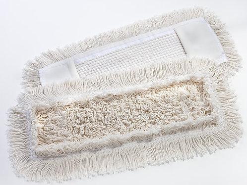 Baumwollbezug, Franse, 40cm, Tasche/Lasche, mit Farbcode, rechteckig