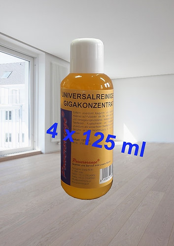 Universalreiniger GIGA-Konzentrat 4x125 ml ACHTUNG Hochkonzentrat!