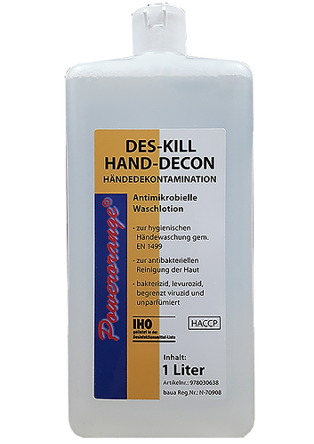 DES-KILL HAND-DECON Desinfektionsseife