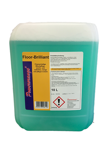 Floor Brilliant 10lt Wischpflege für PVC und Linoleumböden