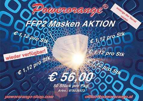 FFP2 Masken 50Stk/Pkg.