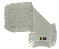 Baumwollbezug, Schlinge, 40 cm, mit Farbcode, Tasche/Lasche, rechteckig