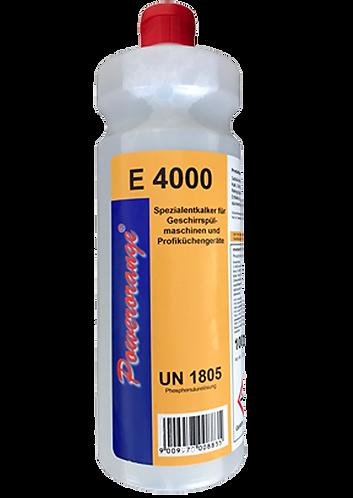 E4000 Entkalker für Geschirrspülmaschinen