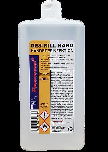 DES-KILL HAND Händedesinfektion 1lt