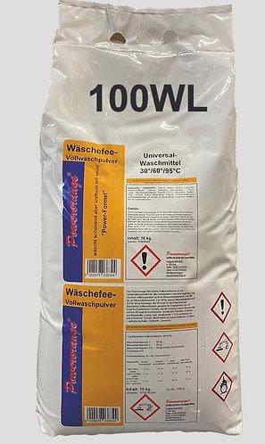 Wäschefee Vollwaschpulver 10kg  für  100WL