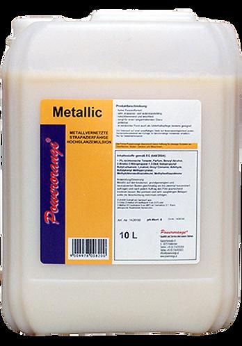 Metallic Polymerbeschichtung weiß 10lt.