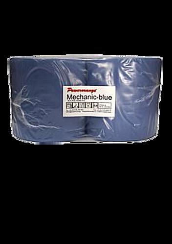 Mechanic-Blue Industriewischtuch 3 lg, 2 Rollen/Pkg