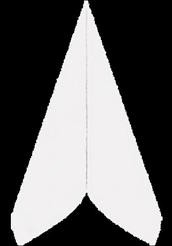 Airlaid-Servietten 40x40 cm, weiß, 800 Stk im Karton