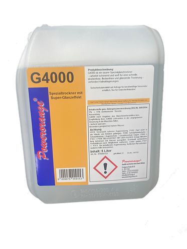 G4000  5 lt. Glanztrockner