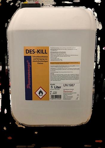 DES-KILL Schnelldesinfektion für Flächen 5lt