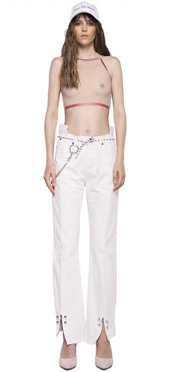 White Metal Jeans / Reworked