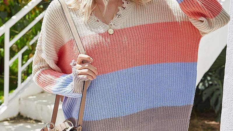Autumn Winter 2020 Knitted Sweater Women