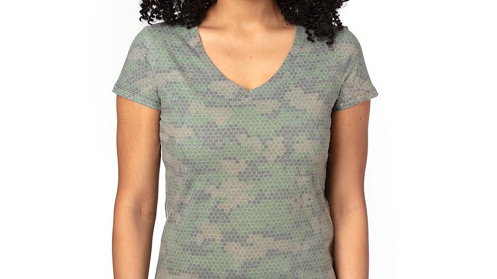 Ladies' Eco Ultimate V-Neck T-Shirt