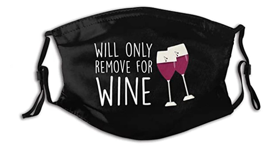 Will Only Remove For Wine Masks