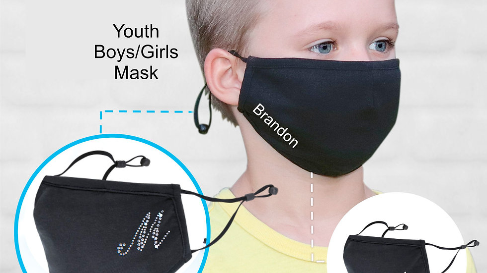 Kids Spandex Custom Face Mask