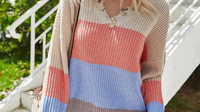 Autumn Winter 2020 Knitted Sweater Women