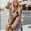Thumbnail: Fringed Sweater Sweater Shawl Coat