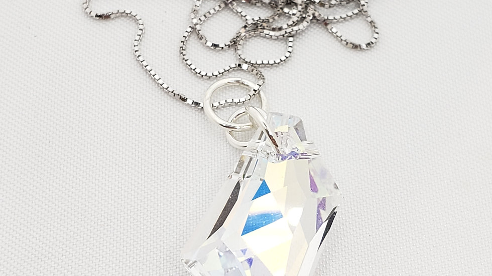 Crystal 925 SS Necklace