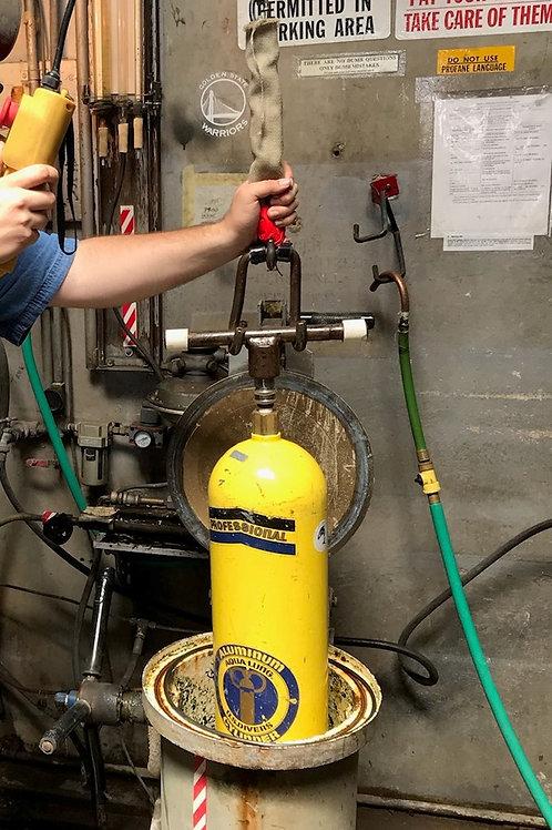 Tank hydrostatic test