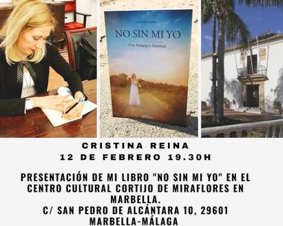 """Presentación de mi libro """"No sin mi yo"""""""