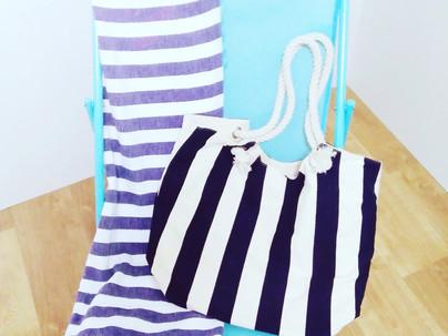 Sorteo de silla, toalla y bolso de playa
