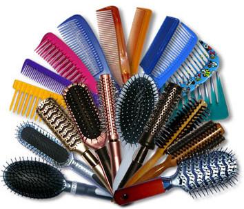 Cómo limpiar los cepillos/peines de pelo